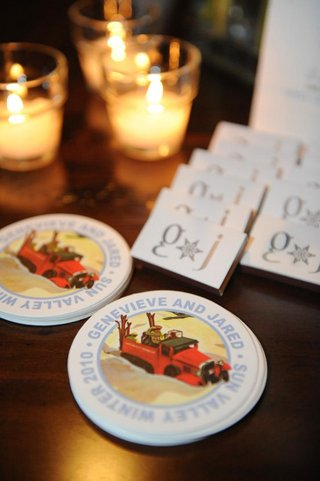 personalized-wedding-drink-coaster-and-matches-box