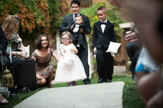 baby-ring-bearer-and-little-girl-in-glasses