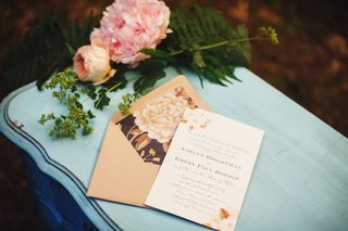 wedding-invitation-with-flowers-and-taupe-envelope-with-peony-graphic-on-liner