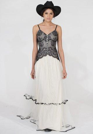 shawnee-in-black-claire-pettibone-wedding-dress-with-spaghetti-straps