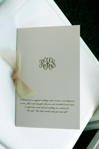 wedding-invitation-with-sheer-champagne-ribbon-and-monogram