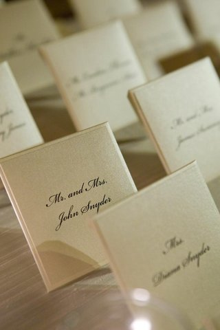 white-wedding-reception-place-cards-with-black-script