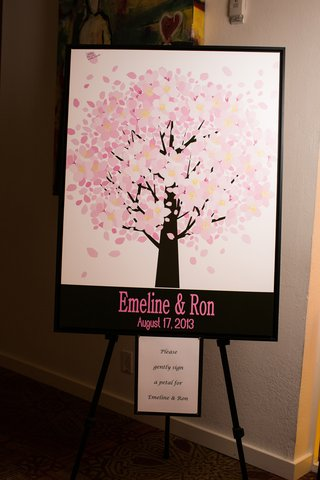 wedding-guestbook-alternative-sign-petals-on-cherry-blossom-painting