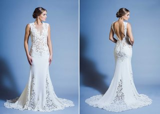jinza-couture-bridal-2016-beach-wedding-dress-with-sheer-lace-illusion-details-on-bodice-and-skirt
