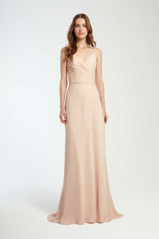 monique-lhuillier-bridesmaids-fall-2016-blush-bridesmaid-dress-with-wrap-bodice