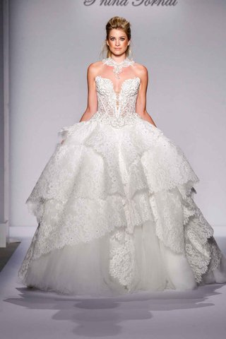 pnina-tornai-for-kleinfeld-2016-lace-ball-gown-wedding-dress