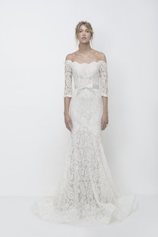 lihi-hod-fall-2018-off-the-shoulder-lace-mermaid-gown-with-3-4-length-sleeves-ruffled-hem