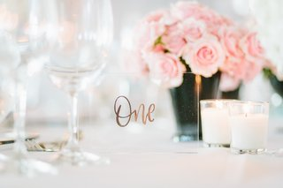 table-number-printed-with-rose-gold-on-a-small-sheet-of-arcylic