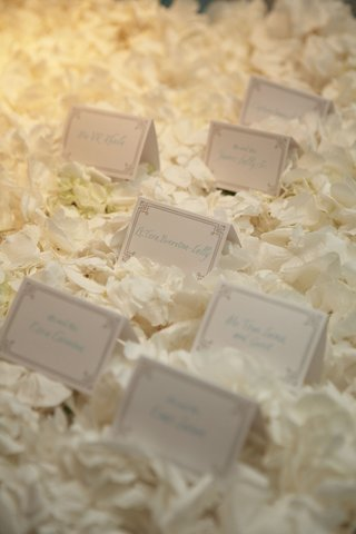 place-cards-resting-on-bed-of-white-flower-petals