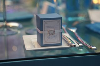 small-blue-and-white-box-of-wedding-favors