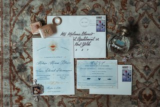 wedding-invitation-light-blue-gold-design-calligraphy-envelope-rsvp-card-black-tie-preferred