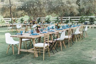 long-rustic-naked-tablescape-ranch-setting-california-winter-boho-wedding-styled-shoot-outdoors