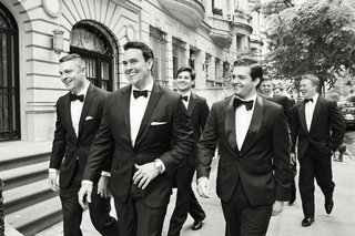 walking-down-the-street-to-meet-his-bride-in-nyc