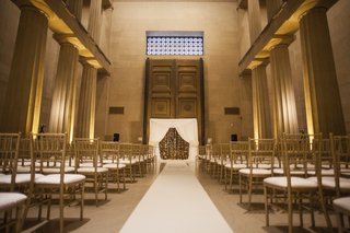 white-and-gold-wedding-ceremony-at-the-parthenon-nashville
