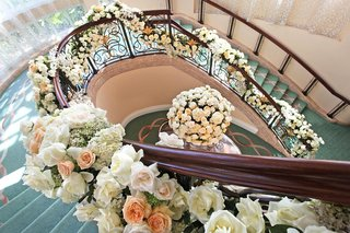 beverly-hills-hotel-stairs-entwined-with-flowers