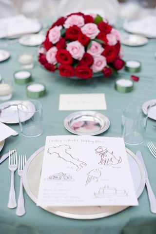 calligraphy-child-menu-at-wedding-reception