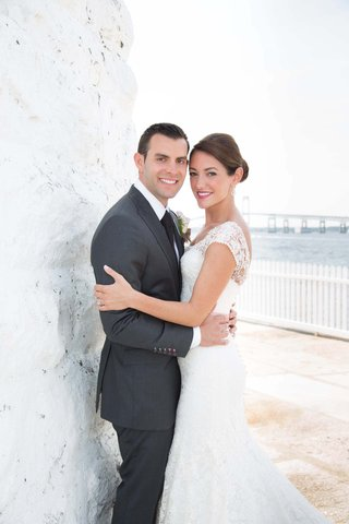 john-colaneri-co-host-of-kitchen-cousins-and-his-bride-in-newport-ri