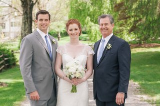 newlyweds-outside-with-the-brides-father