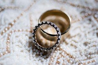 wedding-rings-eternity-band-diamond-ring-with-polished-gold-mens-band-wedding-ring-on-alon-livne