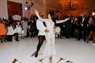 r-b-singer-durrell-tank-babbs-zena-foster-wedding-white-dance-floor-with-gold-letters-first-da