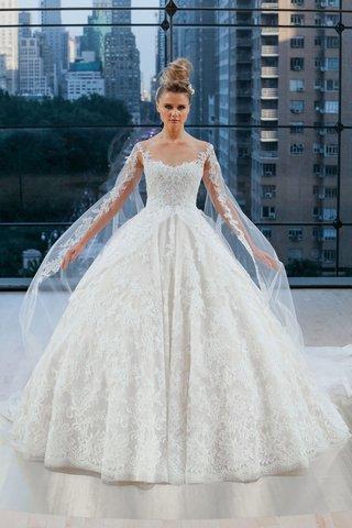 vanderbilt-ines-di-santo-fall-2018-ball-gown-sleeveless-sweetheart-detachable-sleeves-and-veil