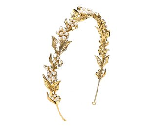 eve-gold-leaf-and-pearl-headband-rhinestones-untamed-petals-amanda-judge