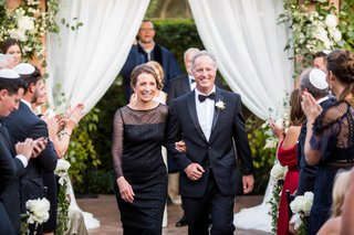 wedding-ceremony-parents-mother-in-black-dress-and-father-in-tuxedo-bow-tie