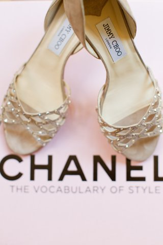brides-light-brown-suede-jimmy-choo-pumps-with-golden-stones