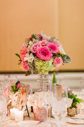 wedding-reception-medium-size-centerpiece-crystal-stand-with-pink-rose-white-green-hydrangea-crystal