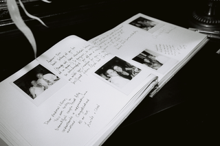 black-and-white-image-of-polaroid-picture-guest-book