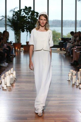 laure-de-sagazan-fall-2018-gavras-structured-top-with-bell-sleeves-drieu-slip-dress