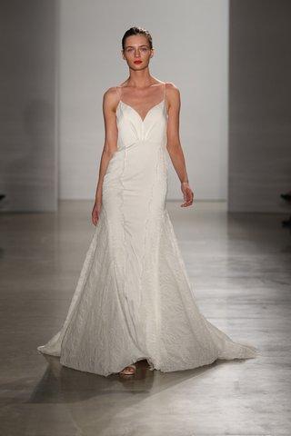 kenneth-pool-fall-2016-spaghetti-strap-wedding-dress-with-v-neck