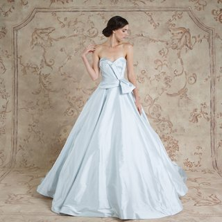 strapless-light-blue-wedding-dress-ball-gown-with-bow