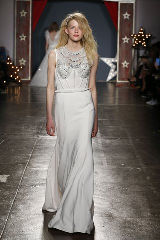 jenny-packham-2018-collection-siren-bridal-ivory-crepe-gown-embroidered-bodice-jewel-neckline