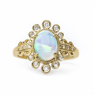 claire-pettibone-x-trumpet-horn-celestine-cabochon-opal-engagement-ring