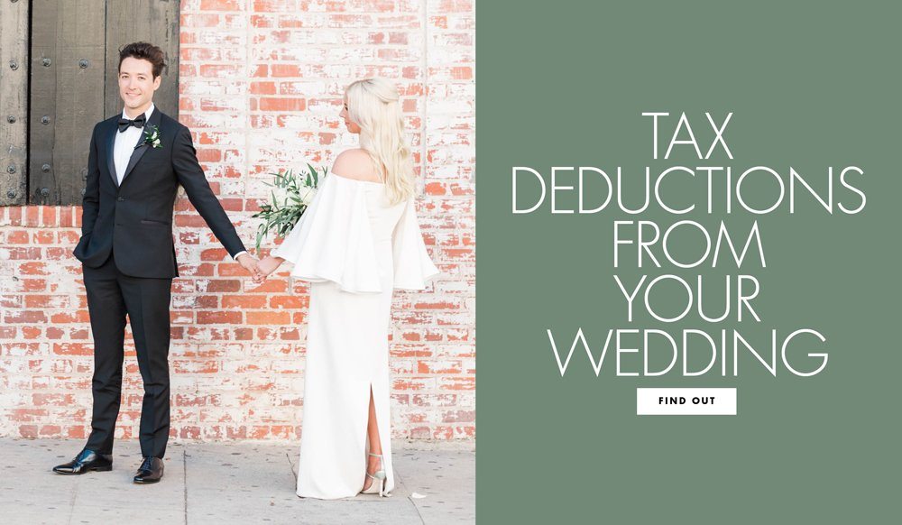 Find Out What Tax Write Offs You Could Get From Your Wedding