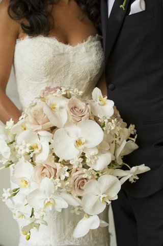 pink-rose-white-orchid-and-stephanotis-bouquet