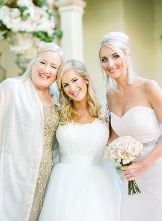 bride-in-a-monique-lhuillier-gown-with-her-mother-and-sister