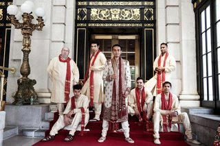 men-in-traditional-indian-attire-outside-the-plaza