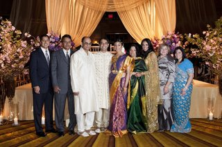 actress-reshma-shetty-groom-and-loved-ones-at-her-indian-hindu-wedding
