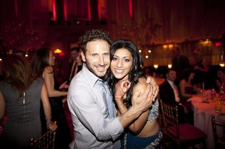actress-reshma-shetty-with-actor-mark-feuerstein-at-her-wedding-reception