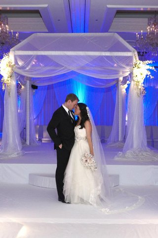 bride-and-groom-in-front-of-chuppah-at-chicago-wedding