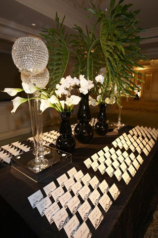 table-with-seating-cards-crystal-orbs-and-tropical-flowers