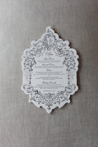 katherine-kallinis-wedding-menu-card-with-scallop-edges