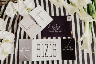 modern-save-the-dates-in-black-and-white-color-scheme