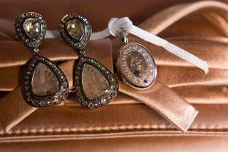 monogrammed-locket-and-drop-earring-set