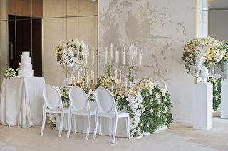 wedding-inspiration-greenery-yellow-and-white-color-scheme-marble-details