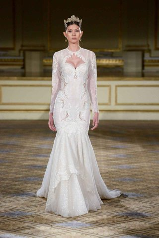 berta-fall-winter-2016-long-sleeve-wedding-dress-with-queen-anne-neckline