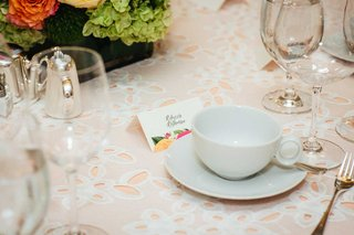 white-eyelet-linen-over-blush-linen-flower-motif-bridal-shower-place-card-tea-cup