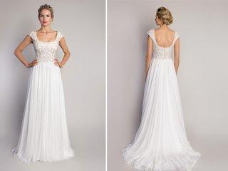 cap-sleeve-wedding-dress-with-beaded-bodice